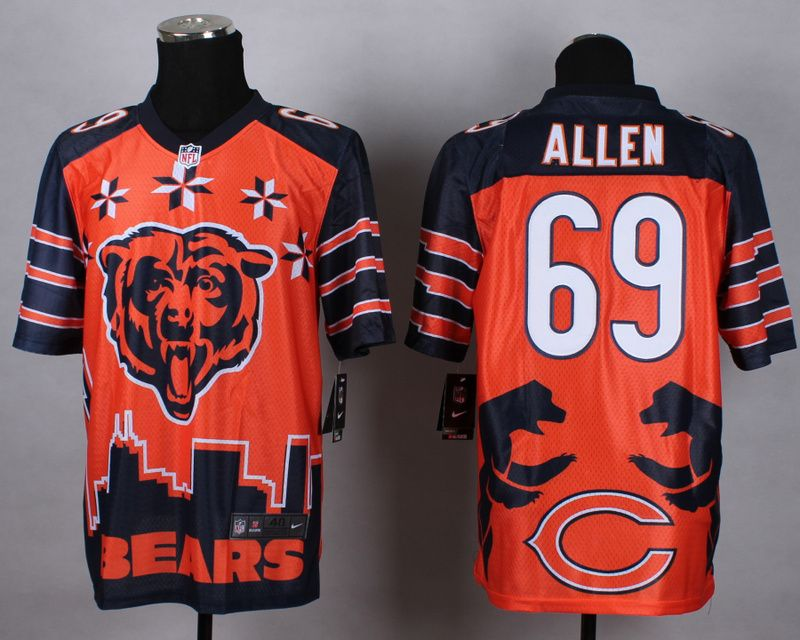 Pin on NFL Chicago Bears Jersey