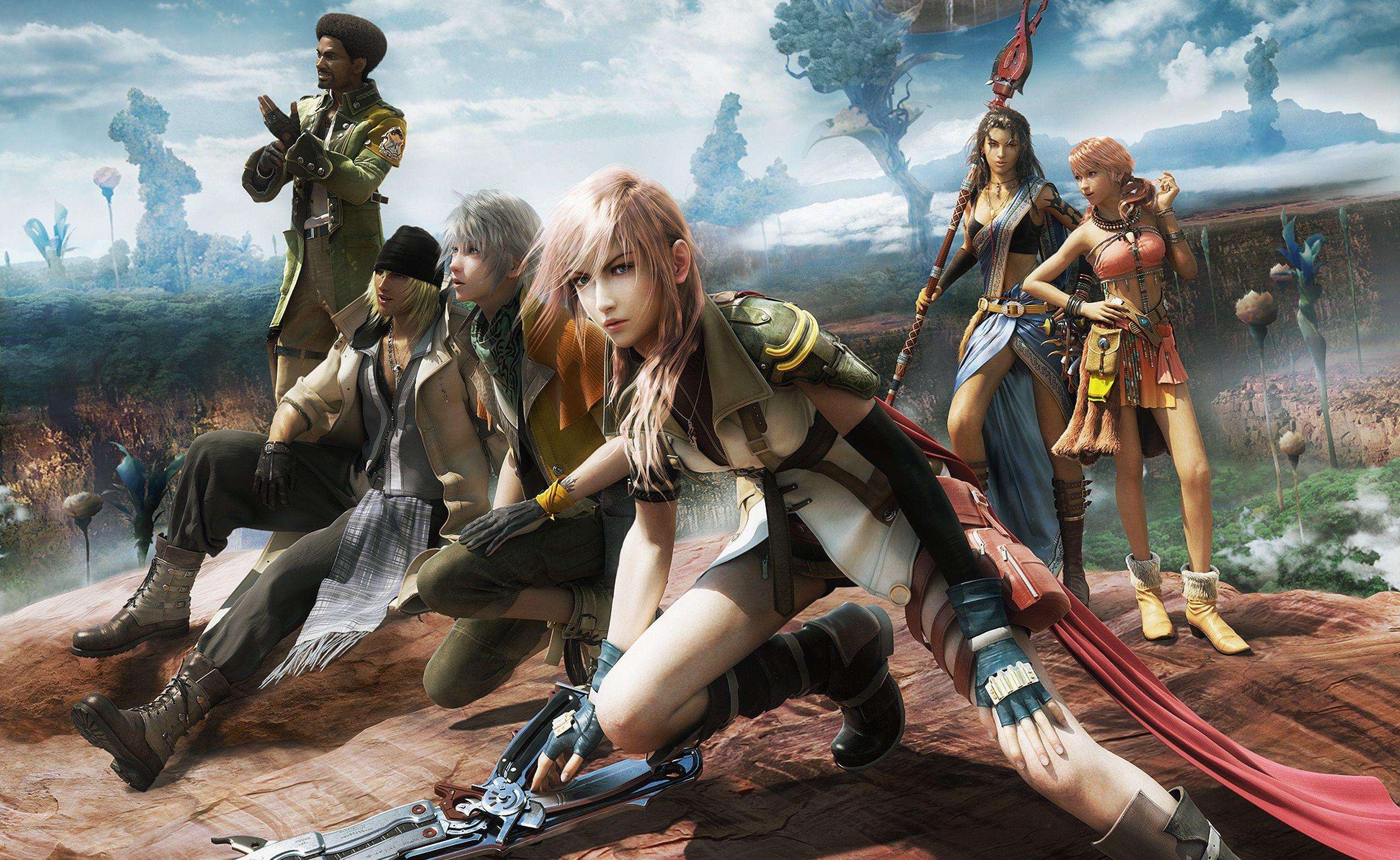 49 Final Fantasy Xiii Hd Wallpapers Backgrounds Wallpaper