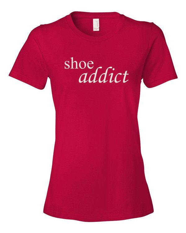 Shoe Addict – Women's t-shirt – Products