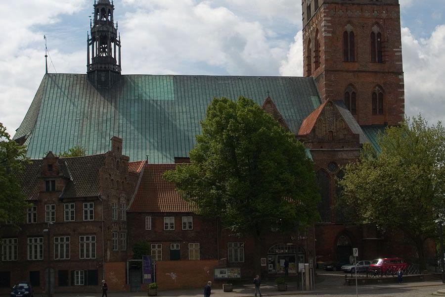 Lübecker St. Jakobi, Kirchenschiff