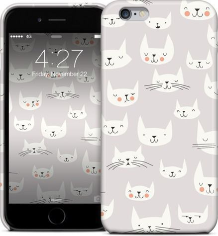 Cat Faces by Lizzy House - iPhone Cases 5S - $29