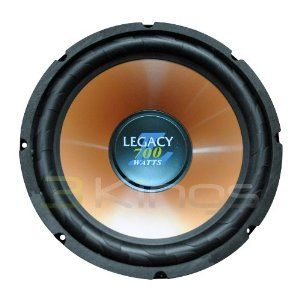 Legacy Lwfx107 10 Inch 700 Watt Legacy Inch L Inch Series Subwoofer By Legacy 21 05 Own Injected Polypropylene Conespecially Subwoofer Rms Car Electronics