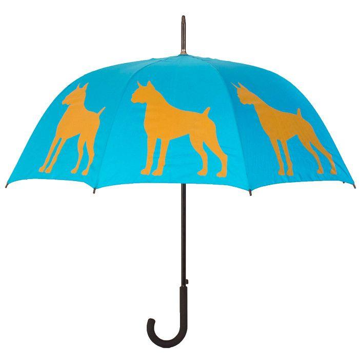 Boxer Walking Stick Umbrella