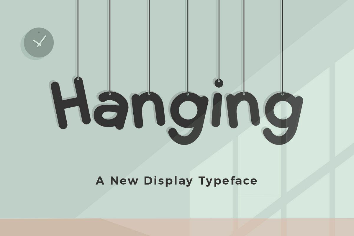 Download Hanging | Font bundles, Premium fonts, Font packs