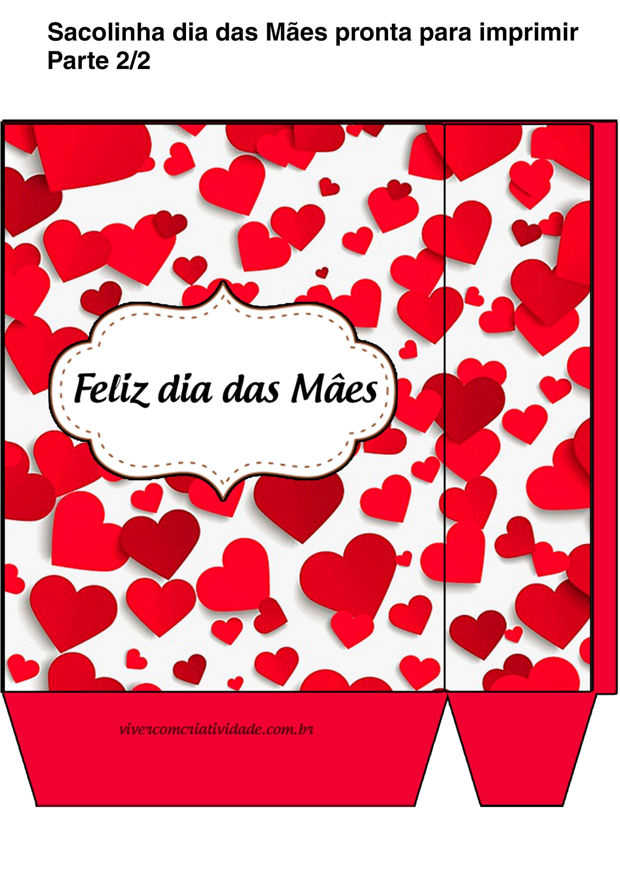 Sacolinha Presente Dia Das Maes Baixar Gratis Faca Voce Mesma