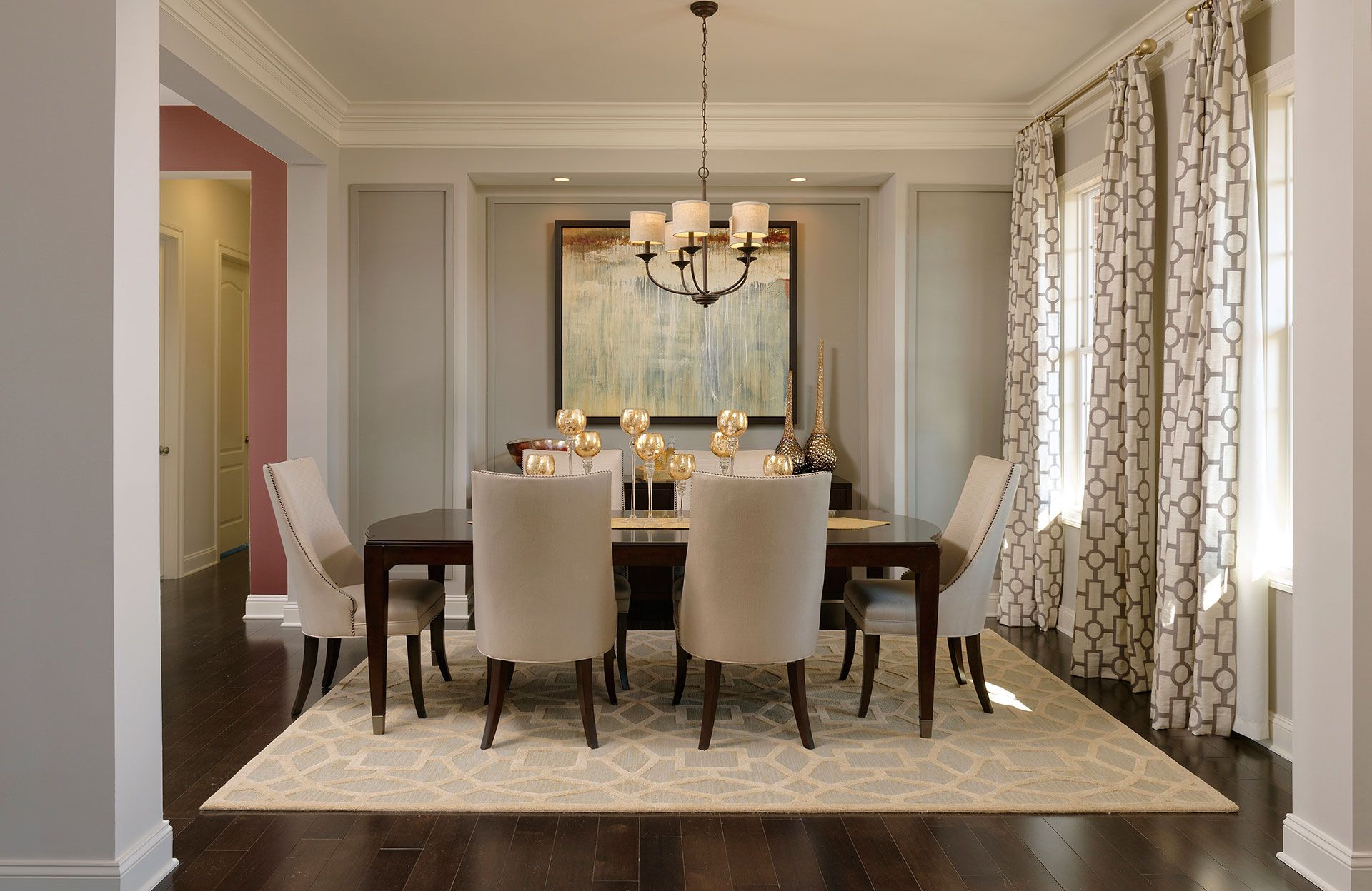 Dining Room Off Entry Peacefield Floor Plan Drees Homes