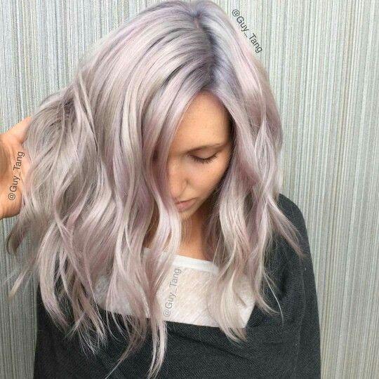 Guy Tang Metallic Blonde X Metallic Hair Lilac Hair Hair Styles