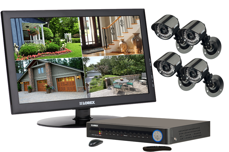 Closed Circuit Television House Surveillance Camera System
