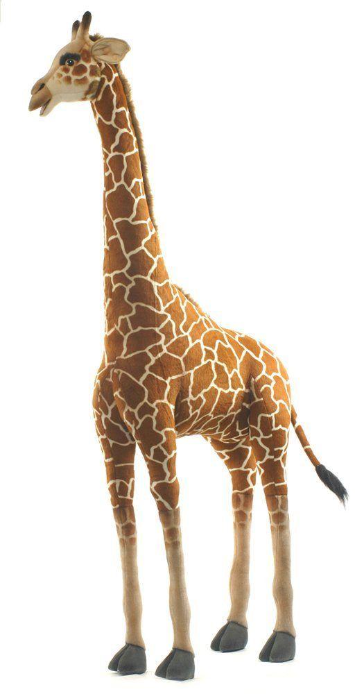 Amazon Com Medium Life Size Giraffe Plush Stuffed Animal Toys