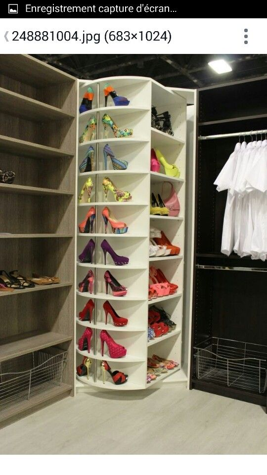 Ide meuble chaussures Master Bedroom Closet Master