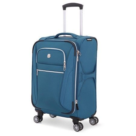 Luggage Rack Target Stunning Swissgear Checklite 20  Pilot Teal And Target Design Inspiration
