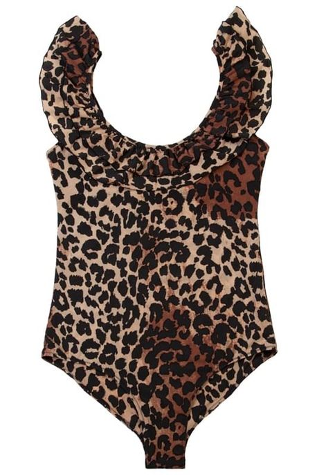 Maillot de bain imprimé léopard, Love Stories, 150 €.