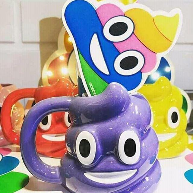 Mas colores para elegir Tazón Emoji Popopocas unidades!!.son furor .. . . . ....  Mas colores para e...