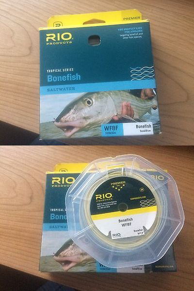 Fly Line Leaders and Tippets 23817: Rio Bonefish Fly Line Wf8f - Color Sand Blue - New -> BUY IT NOW ONLY: $50 on eBay!