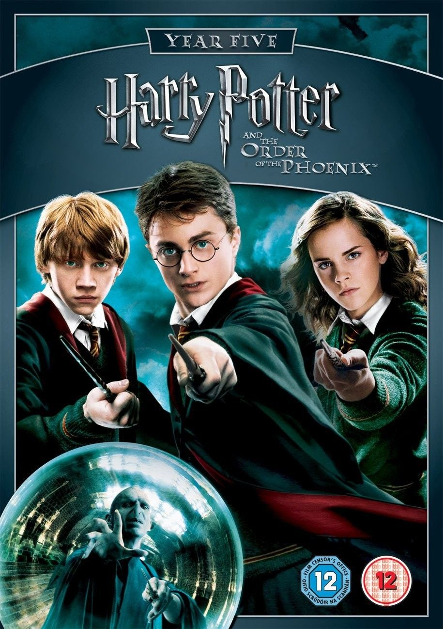 Capa Do Filme 5 Harry Potter Filme Capas De Filmes Harry Potter