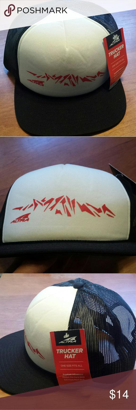 Altra Lone Peak trucker hat | Trucker