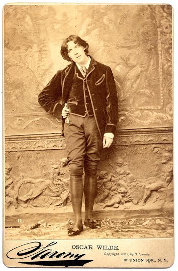 Oscar Wilde New York 1882