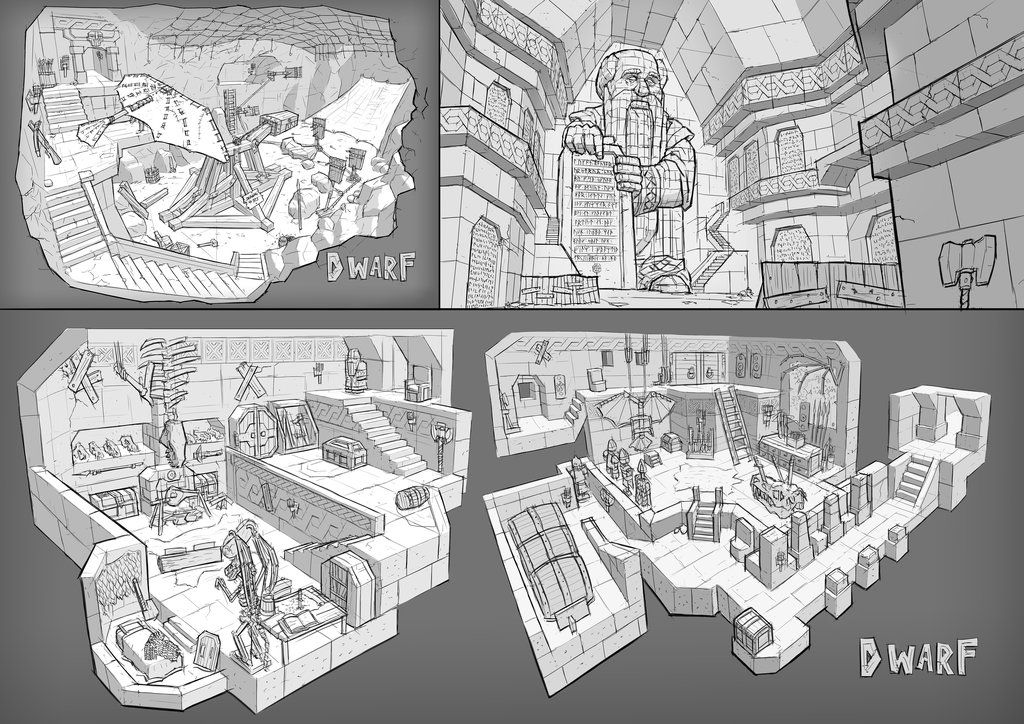 Fantasy Interior Design 3 By Ortsmor On DeviantArt