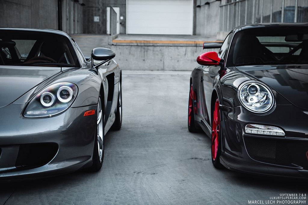 porsche carrera gt   gt3 rs  which one would you choose