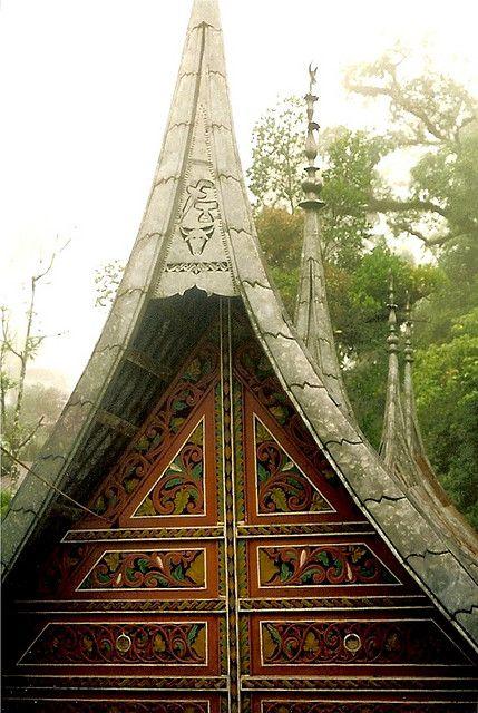 Rumah Gadang Minangkabau In West Sumatra Minangkabau West Sumatra Sumatra