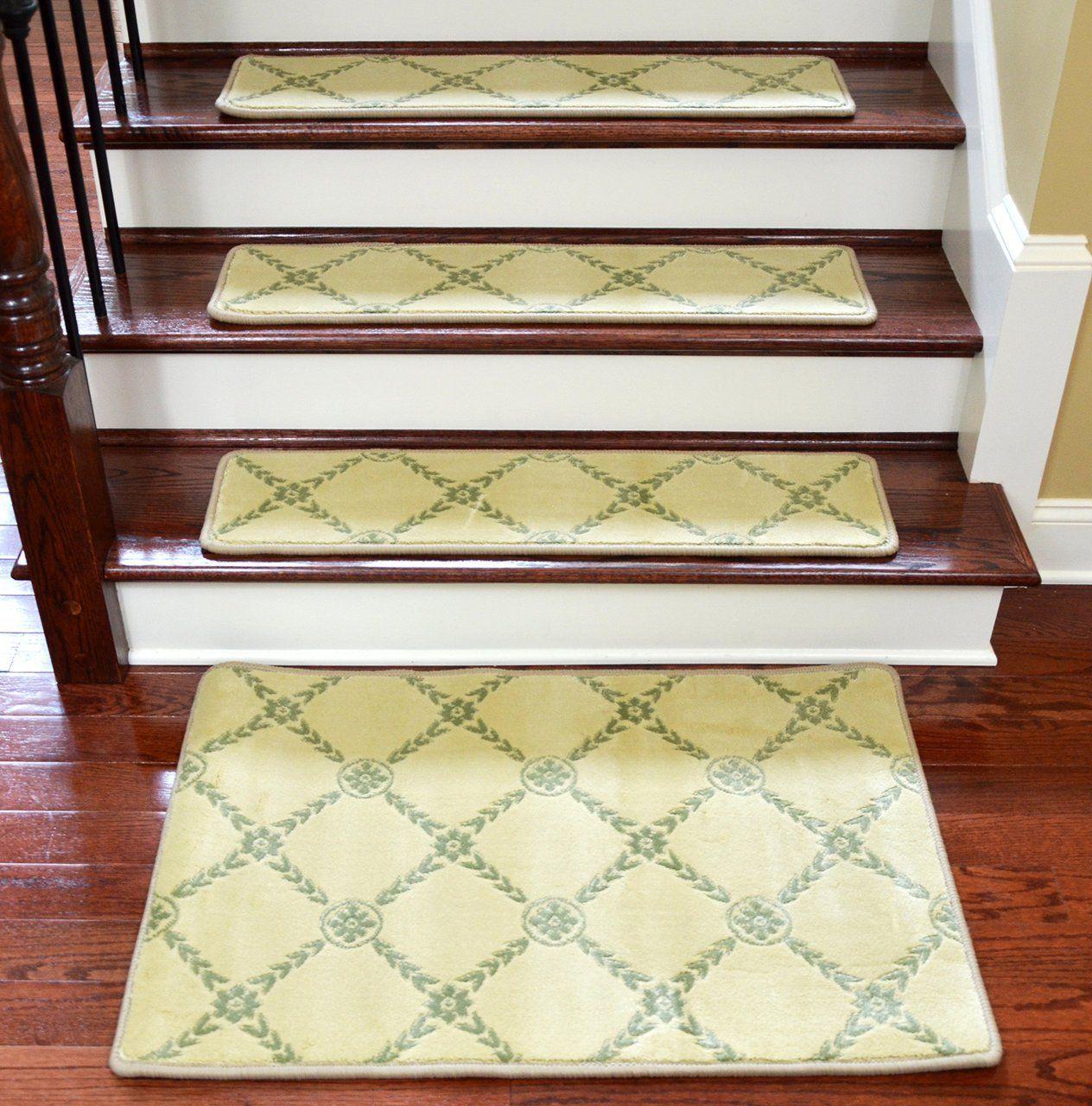 Best Dean Premium Non Skid Carpet Stair Treads Runner Rugs 640 x 480