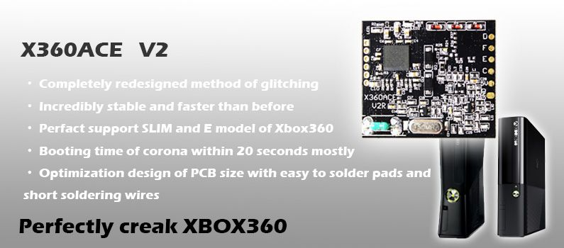 X360ACE V2: Completely redesigned method of glitching