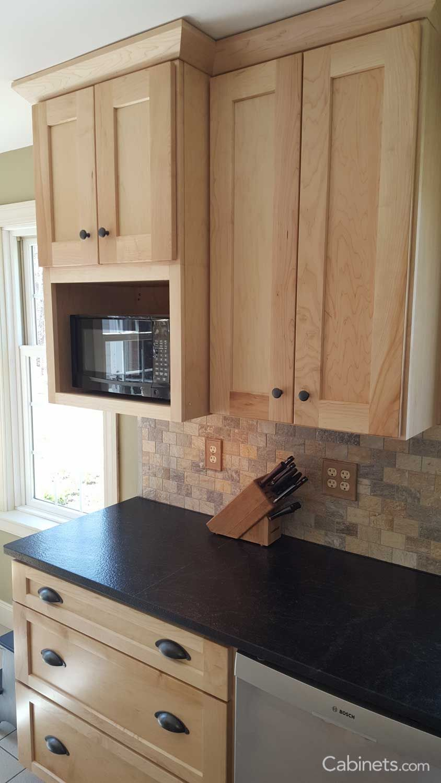 Shaker II Maple Natural in 2019 | Birch kitchen cabinets ...