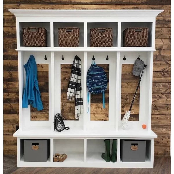 Ybarra Mudroom Storage Unit Hall Tree Mud Room Storage Entryway