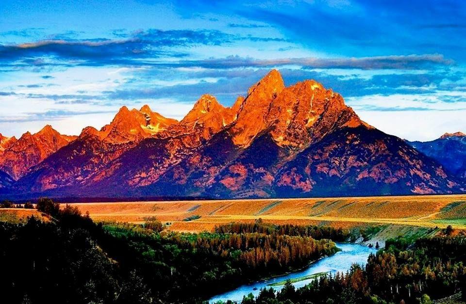 Grand Teton Np Wy Usa Wyoming Mountains Teton National Park Grand Teton National Park