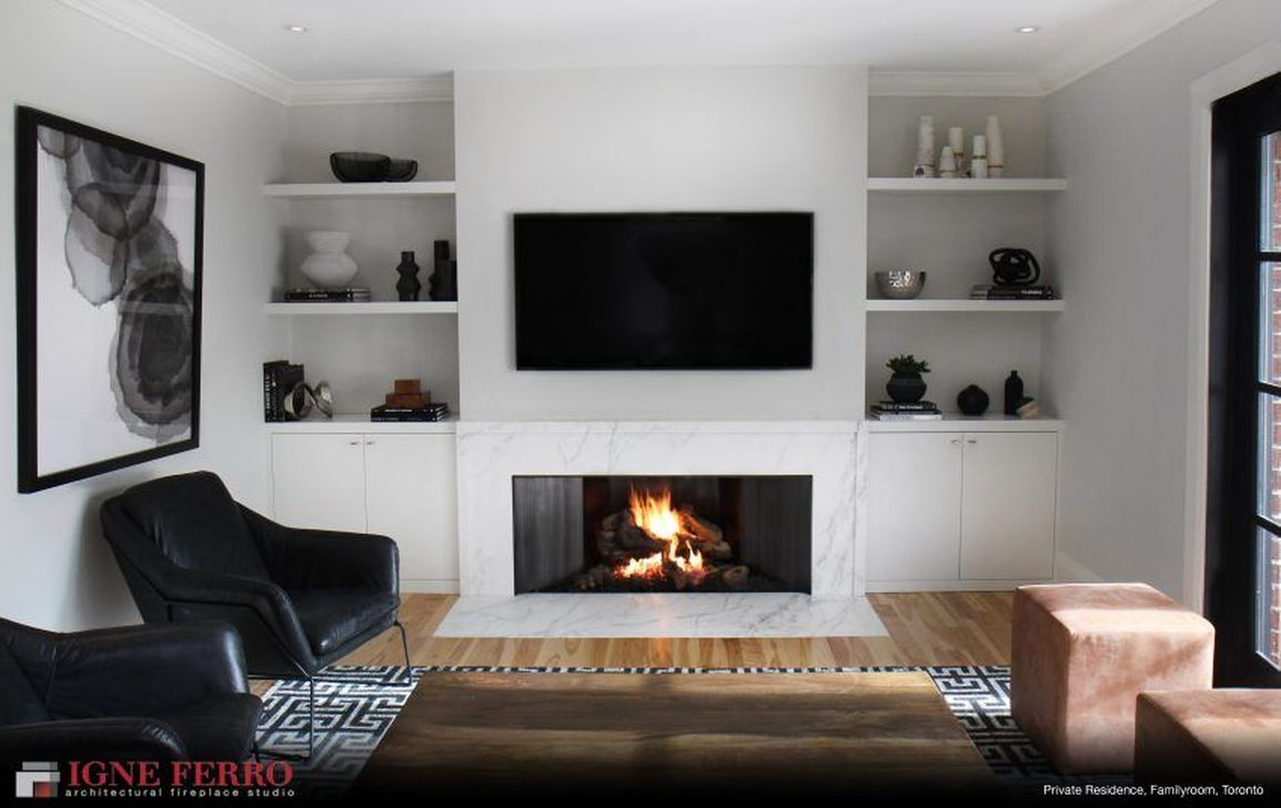 31 Stunning Modern Fireplace Design Ideas Gas Fireplace I