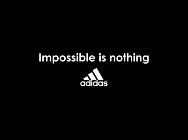 Love Adidas and love this quote!
