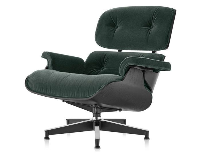 Peachy Eames Lounge Chair In Mohair Supreme In 2018 Objet Petit Caraccident5 Cool Chair Designs And Ideas Caraccident5Info