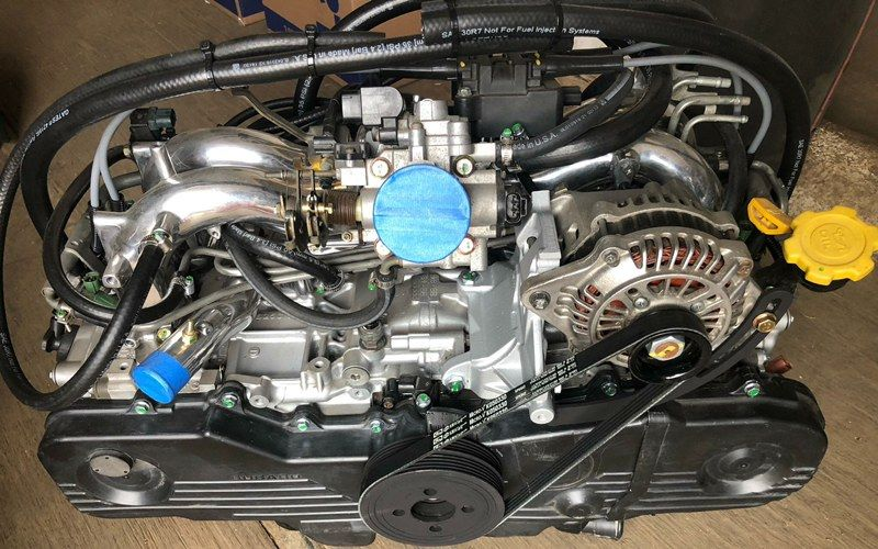 Here's one of our SubiSwaps EJ25 engines getting shipped out