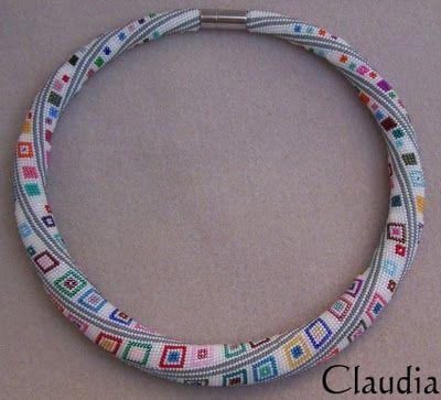 Alle meine Perlen: Häkelkette