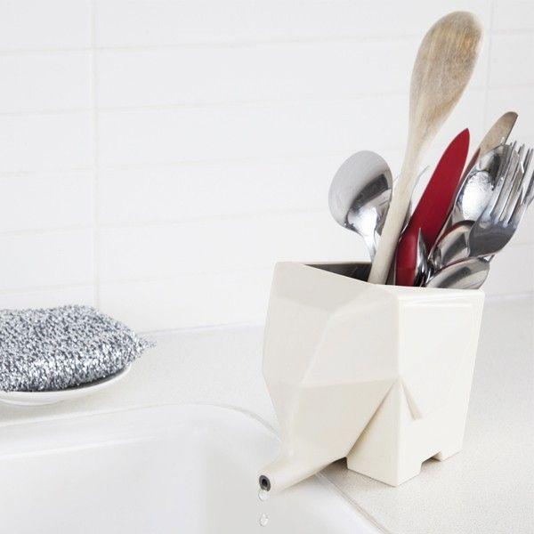 Apporter de loriginalité à sa cuisine passe par de petits détails découvrez les ustensiles rangements égouttoirs bacs proposés par absolument design