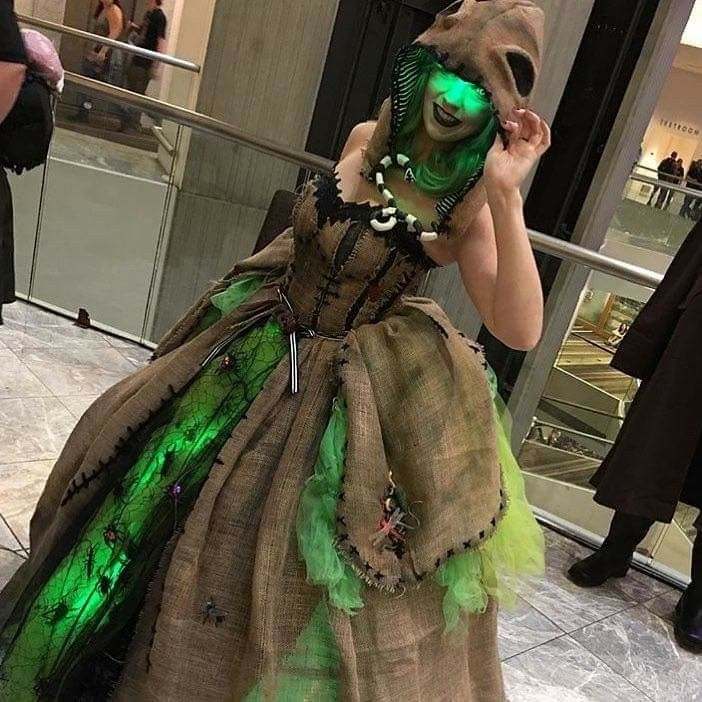 I love this costume! Well done! Oogie boogie