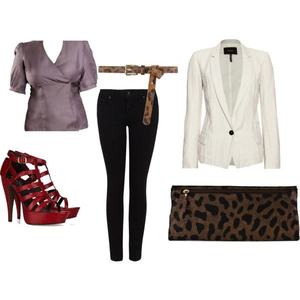 Leopard is a great way to add print to an outfit! www.shoppresenza.com $98