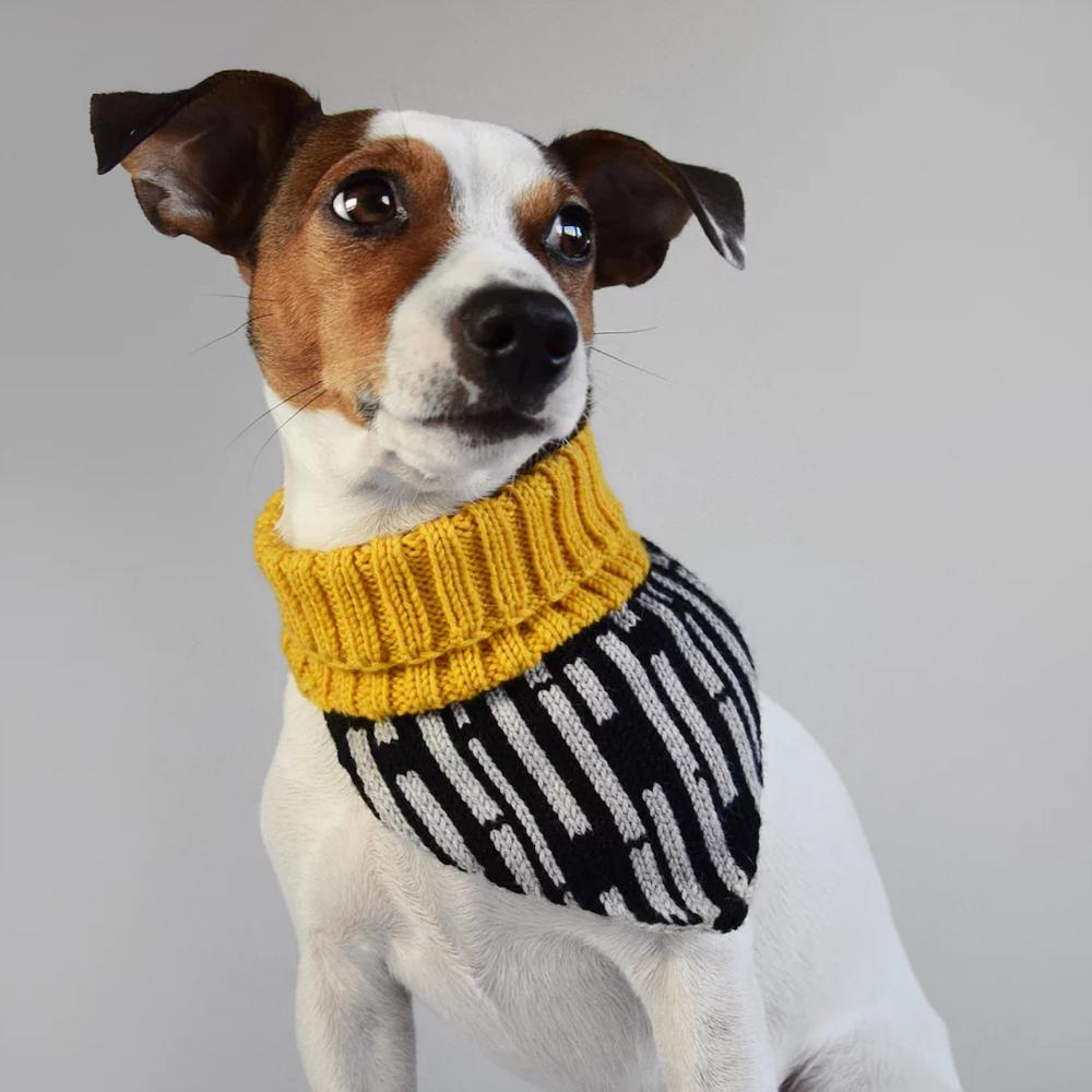Knit Bandanas from Hello Pets Dog milk, Dog neck warmer