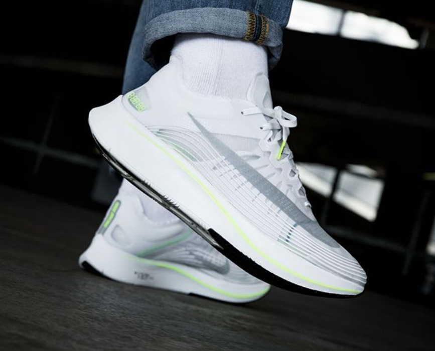 91eecbd06989 Look Out For The Clean Nike Zoom Fly SP White Volt