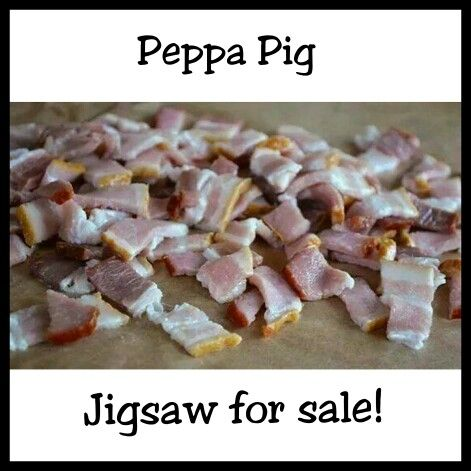 Lmao Lol Joke Puzzle Jigsaw Peppapig Bacon Pig