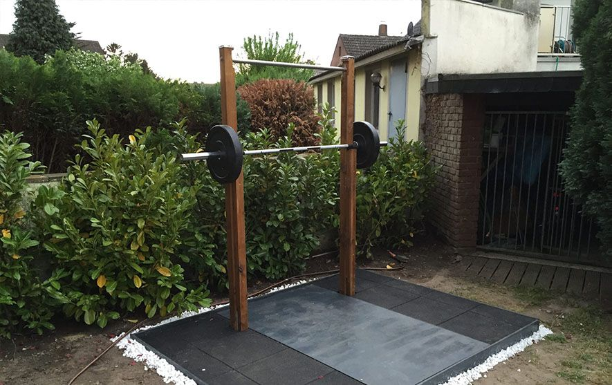 Backyard 11 backyard outdoor home gym ideas pro tips for building