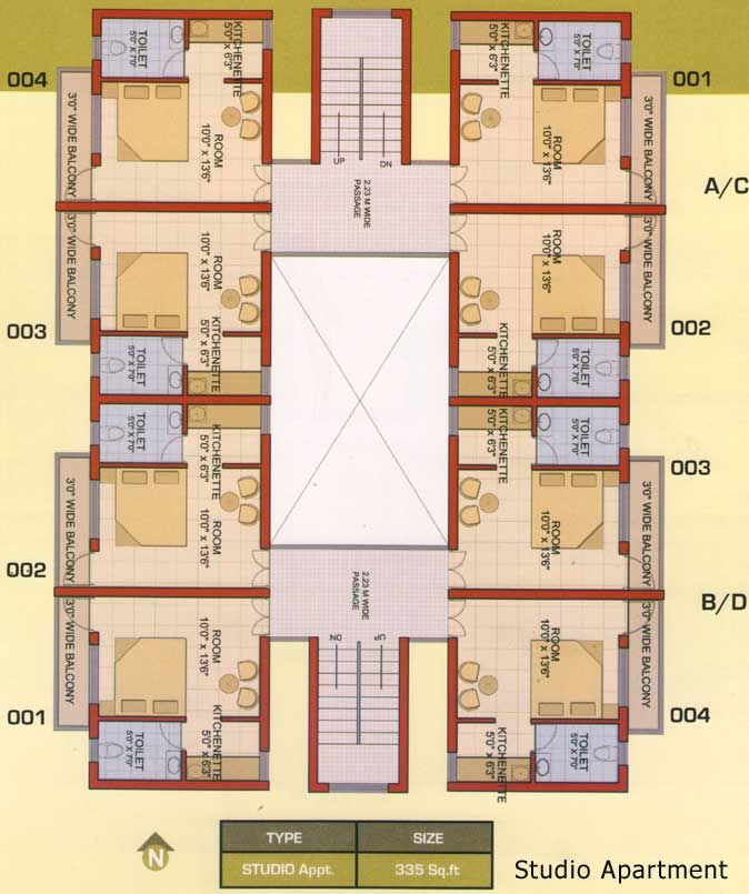 One Bedroom Apartment Plans And Designs Unique Studio Apartment  Floor Plans  Pinterest  Studio Apartment And Design Decoration
