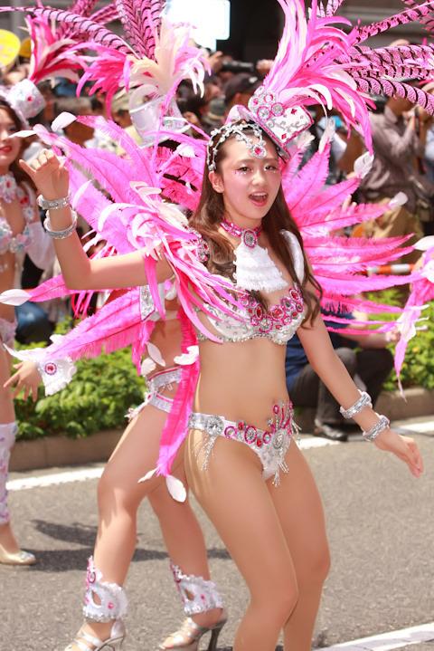 祭り 神戸 可愛い サンバ