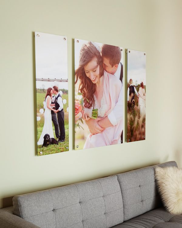 frame your wedding photos in a unique way with custom acrylic prints shutterflycom