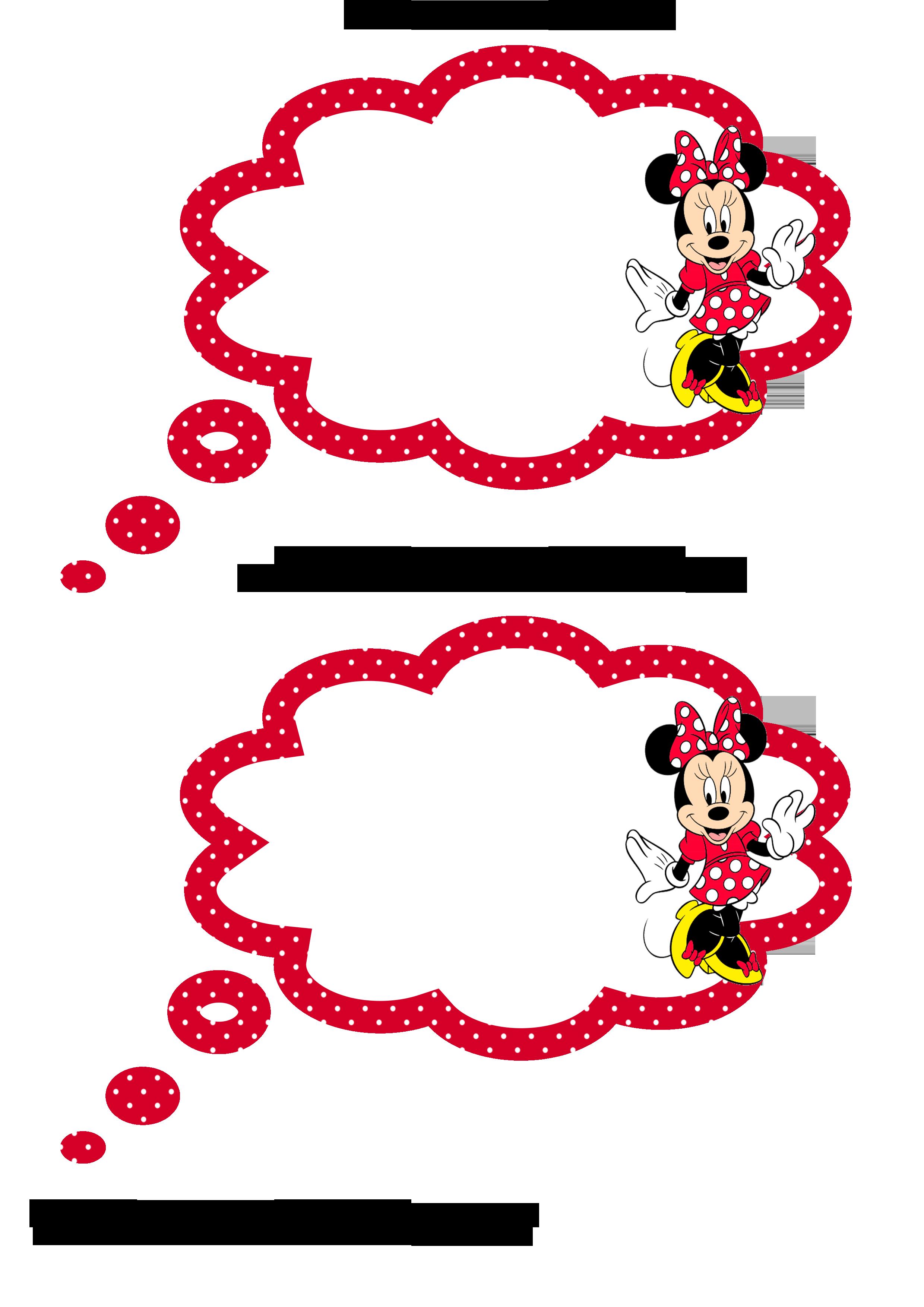 Plaquinhas Divertidas Para Fotos Da Minnie Vermelha Minnie