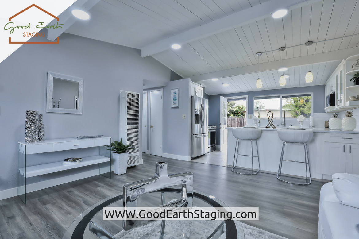 Bar Stool At Palm View Way San Jose Ca Home Staging By Good Earth Llc Goodearthstaging Stagingredefined Sanfrancisco Bayarea Homestaging