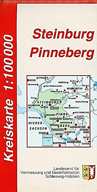 Kreiskarte Schleswig Holstein Kreise Steinburg Und Pinneberg