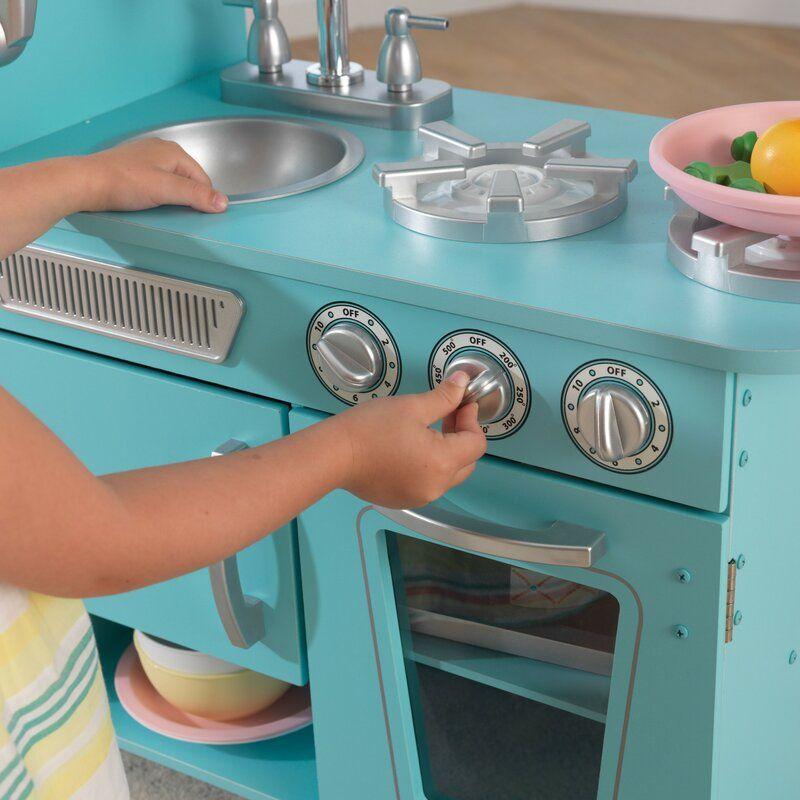 vintage kitchen set | kidkraft vintage kitchen, play