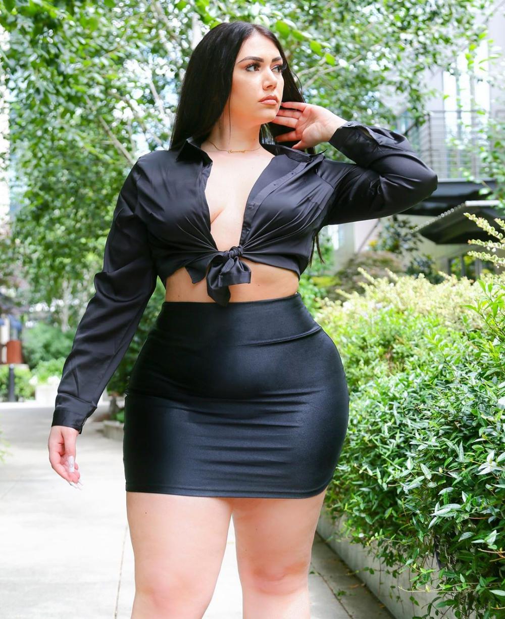 5 Black Curvy Summer Fashionnova Outfits - SAMMYY02K ...