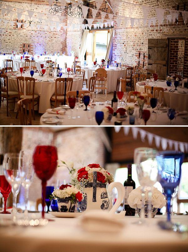 A Red White Blue Diy Wedding Wedding Tips Diy Wedding Wedding